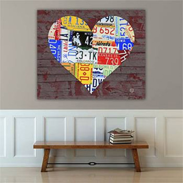 Purchase license plate art and license plate maps by design turnpike solutioingenieria Choice Image