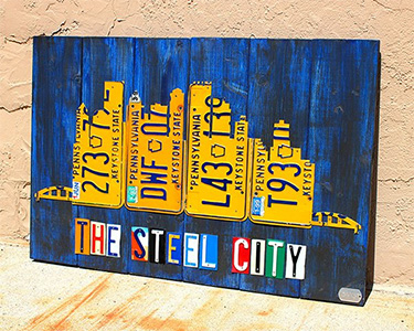 Purchase License Plate Art And License Plate Maps By