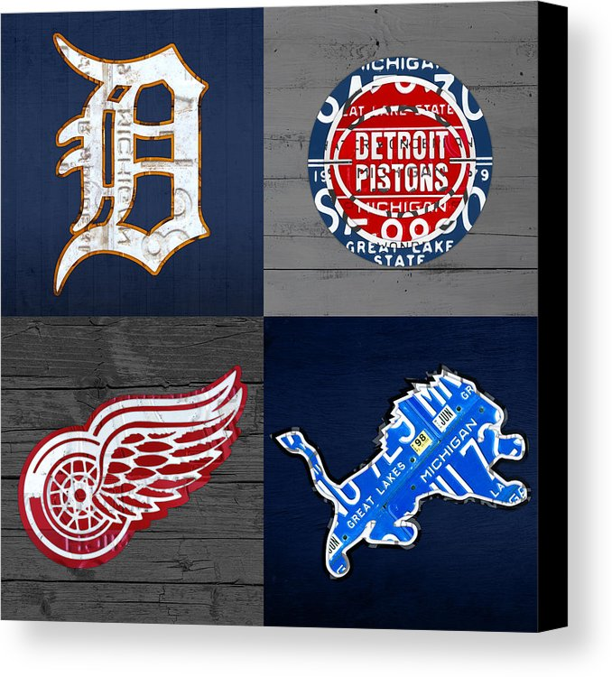 Sports Team Logo License Plate Art Handmade Originals and Prints ...
